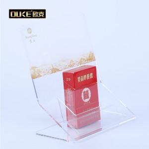 专业亚克力加工厂定制有机亚虎yahu娱乐香烟展示架