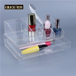 亚克力加工厂专业定制亚克力化妆品收纳盒