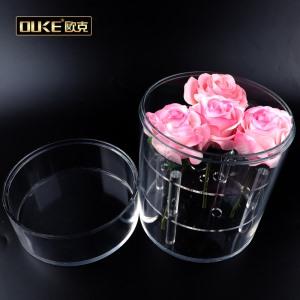 亚克力圆管7孔透明圆管花盒